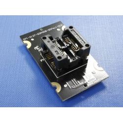 SOP8W(207mil) Adaptor SPI-127-SOP008-207mil-01FE