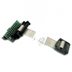 Universal Adaptor with SF100 2.54mm 2x4 ISP cable for SF600 - ADP-SF600-TO-SF100&CB