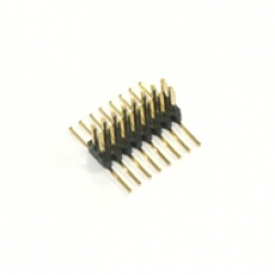 1.27mm 2x8 SMT male header for SO16W footprint (50 pieces) - HD-2
