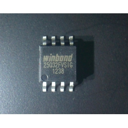 SPI IC FLASH 32MBIT 104MHZ 8SOIC - 25Q32