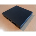 Enclosure 3 LAN USB black for alix2 case1d2blku