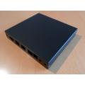 Enclosure 3 LAN USB black case1d2blku
