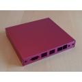 Enclosure 3 LAN USB red case1d2redu