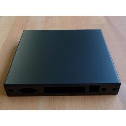 Enclosure 4 LAN USB black case1d4blku
