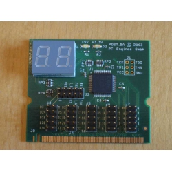 PCI POST code display post5a