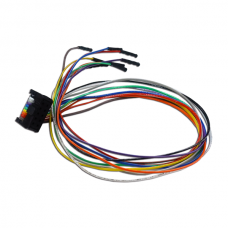 MA-IDC3B-05F-DUP254-10F-028-A: 10-Pin ATE Port Split Cable [2.54mm]