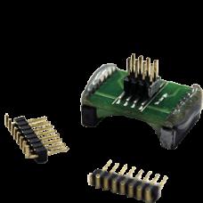 EM-AD-SOK-BK-16W: SO16W Aadaptor With 1.27mm 2x4 Pin Header