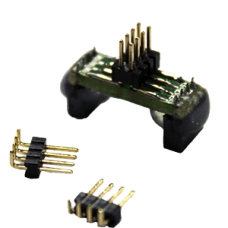EM-AD-SOK-BK-8W: SO8 Adaptor With 1.27mm 2x4 Pin Header