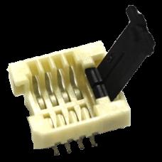SOK-SPI-8W-1: SO8W SMT Socket-1 [MOQ:15PCS]