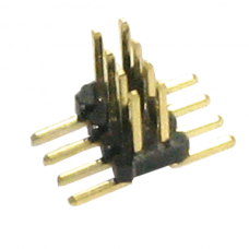 HD-1: SO8 1.27mm 2x4 SMT Pin Header [50 pieces, Width 10.3mm]